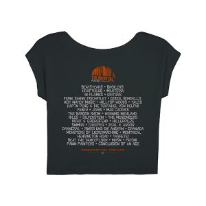 """Taubertal Festival 2018 T-Shirt """"Forest"""" Damen, schwarz"""