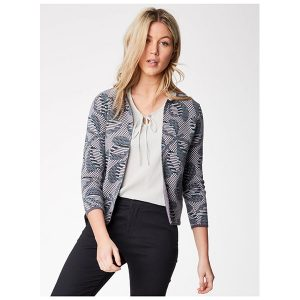 """THOUGHT """"Gertie Luxe Printed Cardigan"""""""