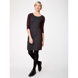 "THOUGHT Kleid ""Jane Ellen Dress"" Graphite"