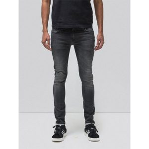 "NUDIE Jeans ""Skinny Lin"" black movement"