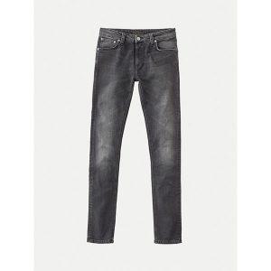 """NUDIE Jeans """"Skinny Lin"""" black movement"""