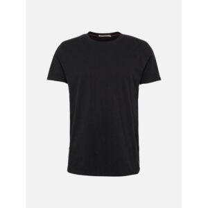 """NUDIEJEANS T-Shirt """"Anders"""" black"""