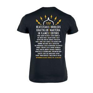 """Taubertal Festival 2018 T-Shirt """"Röhre"""" Damen, schwarz"""