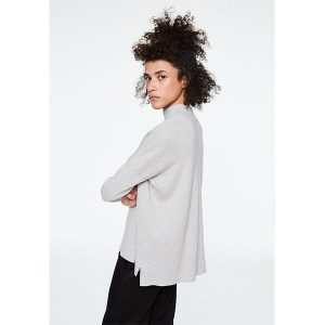 "ARMEDANGELS Damen Pullover ""Yuna"" light grey melange"