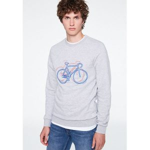 "ARMEDANGELS Sweater ""Yorick Bike on Bike"" dark navy"