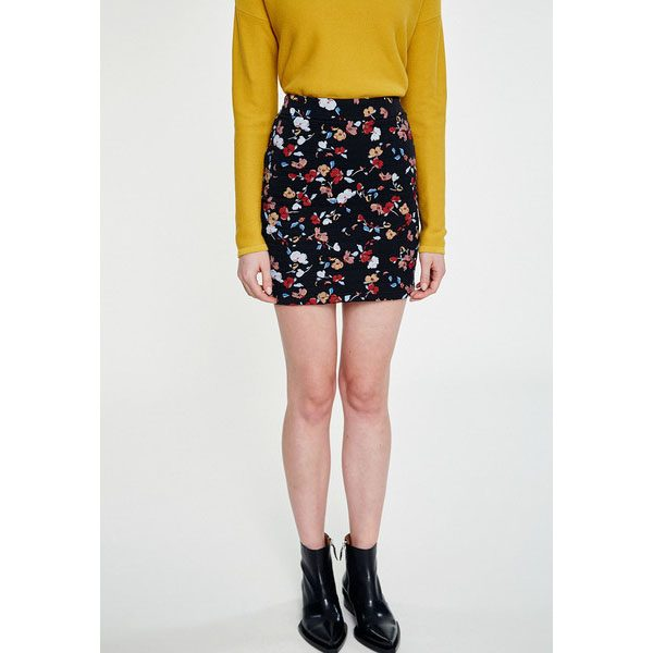 "ARMEDANGELS Rock ""Celia Full Fall Flowers"" black"
