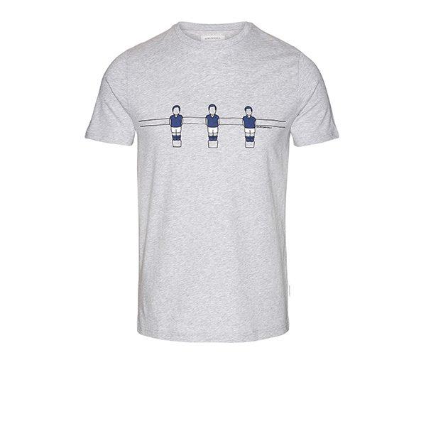 """ARMEDANGELS T-Shirt """"James Foosball"""" grey melange"""