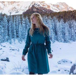 "BLEED ""Cold Dye Dress"" green"
