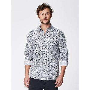 """THOUGHT Herrenhemd """"Velocity Organic Cotton Shirt"""" white"""