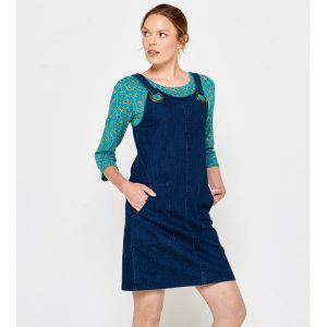"TRANQUILLO Kleid ""Lethia"" stretch denim"