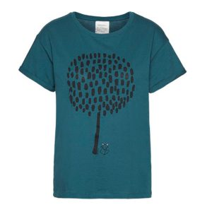 "ARMEDANGELS T-Shirt ""Nalin Big Tree"" vivid petrol"