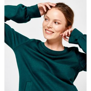 "TRANQUILLO Damen Pullover ""Maya"" pine"