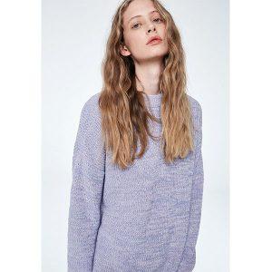 """ARMEDANGELS Pullover """"Anais Melange"""" soft lavender"""