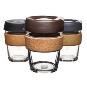 "KEEPCUP Glasbecher ""BREW reusable glass cup"" verschiedene Farben"