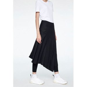 "ARMEDANGELS Skirt ""Shiny"" black"