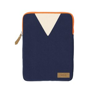 "MELAWEAR Laptop Sleeve 13"" blue/orange"