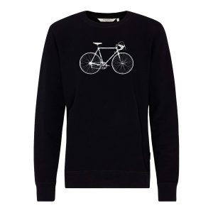 "RECOLUTION Sweatshirt ""Basic #Rennrad"" black"