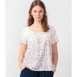 """SKFK T-Shirt """"Etarte"""" white"""