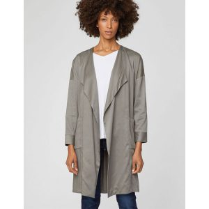 "THOUGHT Mantel ""Margo Jacket Modal Waterfall Coat"" sage"