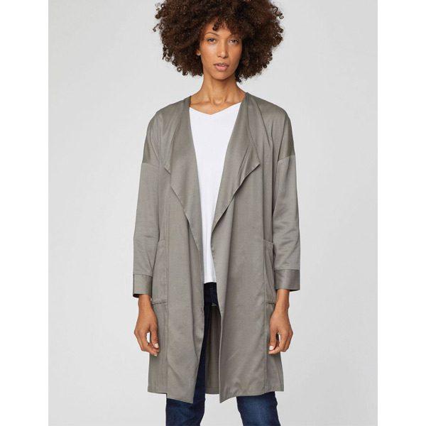 Thought Waterfall Coat Organic Fashion