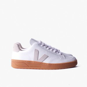 "VEJA ""V12"" VELCRO Leather extra white natural"