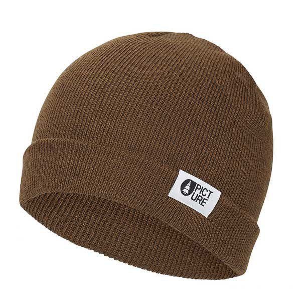 picture organic clothing gots beanie fuse brown