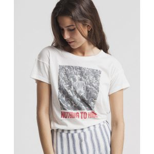 "THINKING MU T-Shirt ""Nothing To Hide"" snow white"