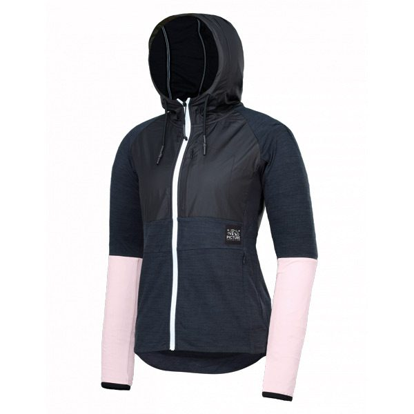Picture Organic Clothing Sama Zip Tech Hoodie black