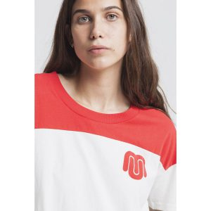 "THINKING MU Frauen T-Shirt ""Rugby Ivy Tee"" snow white"