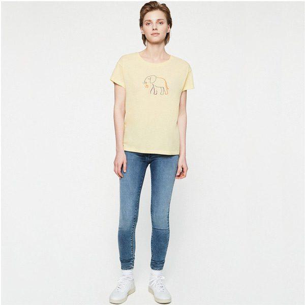 Armedangels neela elephant organic t-shirt