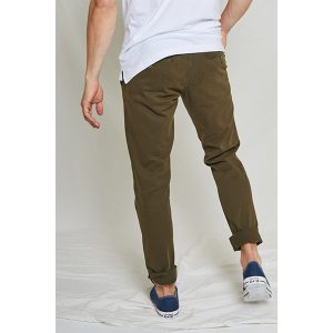 "KUYICHI Chino ""Dexter, Regular Tapered"" dark green"