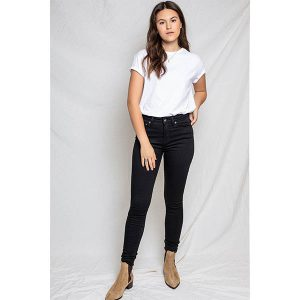 "KUYICHI Jeans ""Roxy, Super Skinny High"" ever black"