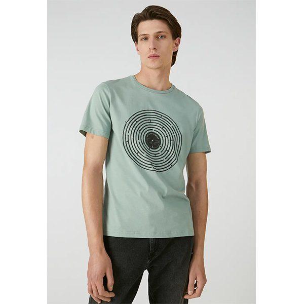 "ARMEDANGELS T-Shirt ""Jaames Labyrinth"""