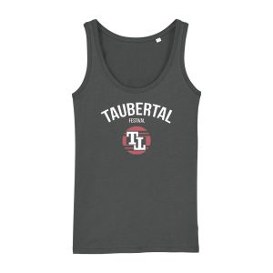 "Taubertal Festival 2019 TankTop ""Official"", anthracite, Girl"