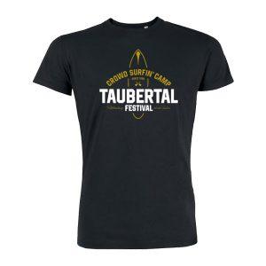 "Taubertal Festival T-Shirt ""Surfer"", schwarz, Unisex"