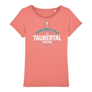"Taubertal Festival T-Shirt 2019 ""Surfer"", flamingo, Girl"