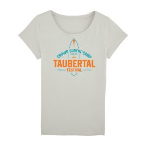 "Taubertal Festival 2019 T-Shirt ""Surfer"", light opaline, Girl"