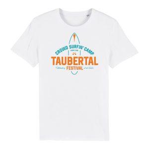 "Taubertal Festival 2019 T-Shirt ""Surfer"", weiß, Man"