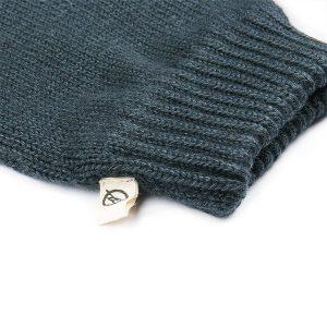 "BLEED Handschuhe ""Knitted Eco Fäustlinge"" grau"