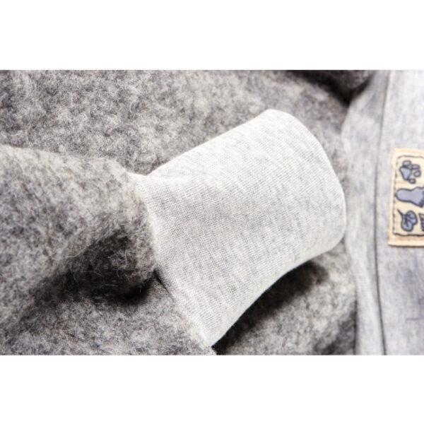 Wärmende, weiche Babyhose aus natürlichem Wollfilz