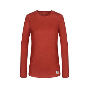 "BLEED Pullover ""Super Active Tencel Damen"" rot, Gr L"