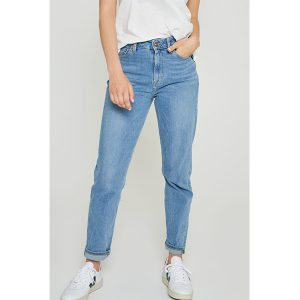 "KUYICHI Jeans ""Nora Slim High Waist"" faded blue"
