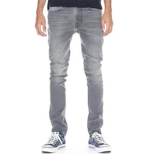 "NUDIE JEANS ""Lean Dean"" pine grey"