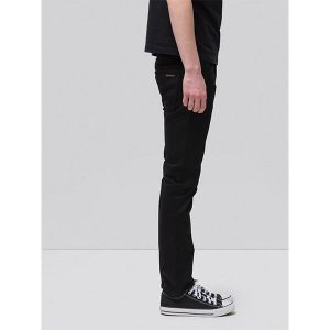 "NUDIE Jeans ""Grim Tim"" dry cold black"