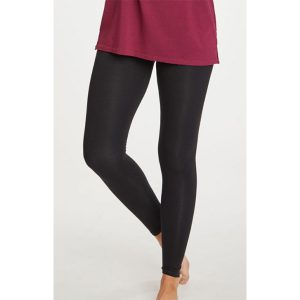 THOUGHT Bamboo Base Layer Leggings black