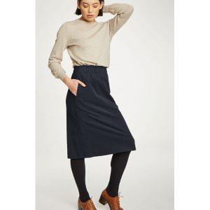 """THOUGHT Skirt """"Lisket"""" raven"""