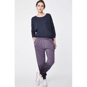 "Thought ""Elsenore Dip Dye Printed Bamboo Harem Trousers """