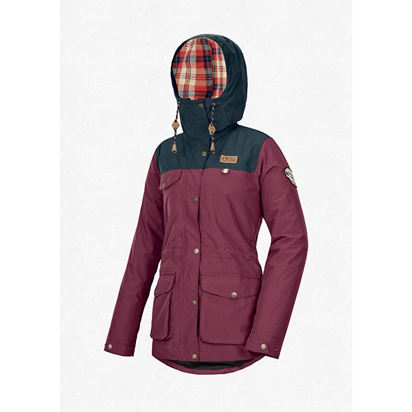 """PICTURE Jacket """"Kate"""" burgundy"""