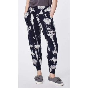 """Thought """"Elsenore Dip Dye Printed Bamboo Harem Trousers """""""