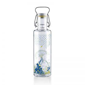 """SOULBOTTLES Glasflasche """"Korallenreich"""" 0.6l"""